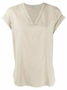 Brunello Cucinelli loose fit T-shirt - NEUTRALS
