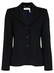 Chloé single-breasted blazer jacket - Blue