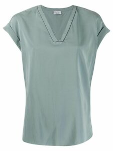 Brunello Cucinelli loose-fit top - Blue