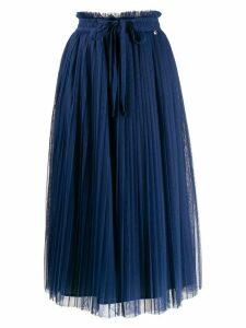 Twin-Set pleated skirt - Blue