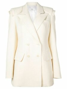 Tibi sculpted blazer - White