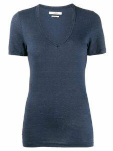 Isabel Marant Étoile v-neck jersey T-shirt - Blue