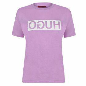Hugo Demali Reverse Logo T Shirt
