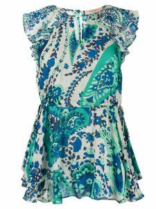 Twin-Set paisley print blouse - NEUTRALS