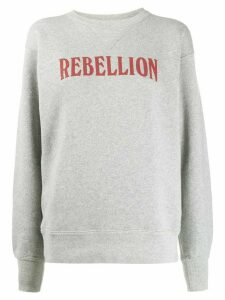 Isabel Marant Étoile Rebellion sweatshirt - Grey