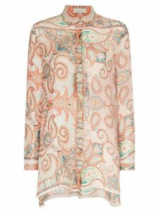 Etro paisley pattern shirt - ORANGE