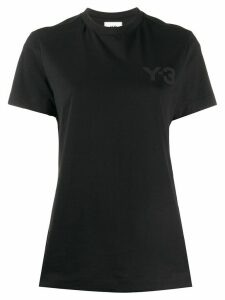 Y-3 plain crew neck T-shirt - Black