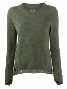 Zadig & Voltaire Shania cashmere jumper - Green