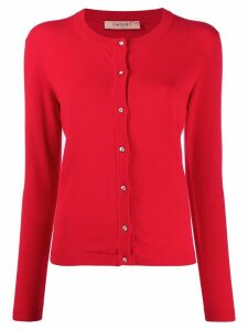 Twin-Set slim-fit knit cardigan - Red