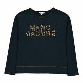 Marc Jacobs Sequin Logo Top