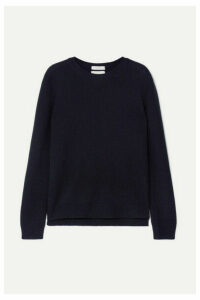 Valentino - Studded Cashmere Sweater - Navy