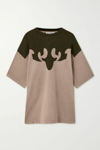 Jil Sander - Asymmetric Striped Cotton-poplin Shirt - Blue