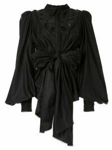 Acler Vicount blouse - Black