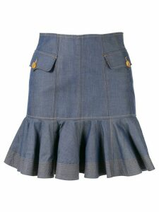 Acler Delton skirt - Blue