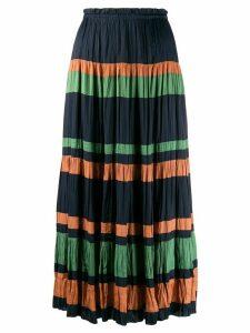 Ulla Johnson striped maxi skirt - Blue