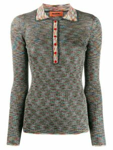 Missoni glittery knitted top - Green
