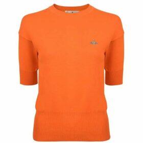 Vivienne Westwood Fine Knit Short Sleeved Top