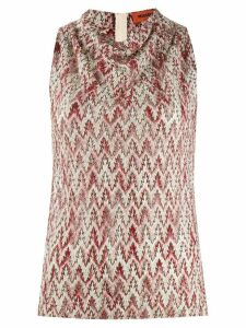 Missoni glitter vest top - NEUTRALS