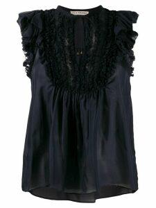 Ulla Johnson ruffled blouse - Blue