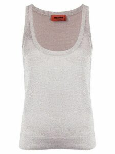 Missoni glitter weave vest top - NEUTRALS