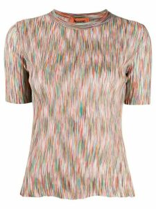 Missoni abstract knit jumper - NEUTRALS