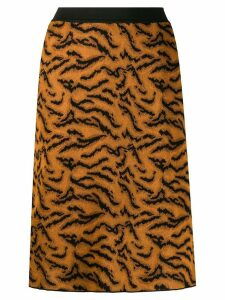 Missoni animal effect skirt - Brown