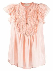 Ulla Johnson ruffled blouse - PINK