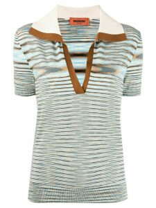Missoni striped knit top - Blue
