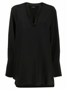 Joseph loose-fit blouse - Black