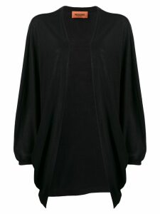 Missoni draped fine knit cardigan - Black