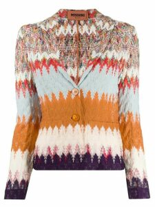 Missoni abstract knit cardigan - NEUTRALS