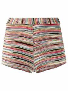 Missoni Mare striped swimming shorts - Red