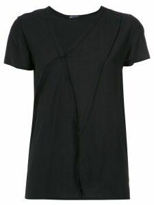 Uma Raquel Davidowicz asymmetric blouse - Black