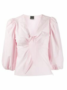 Pinko tie-detail V-neck blouse