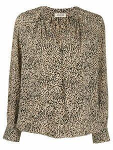 Zadig & Voltaire Tink leopard-print blouse - NEUTRALS