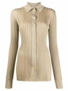 Bottega Veneta knitted long-sleeve shirt - NEUTRALS
