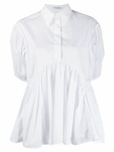 Cecilie Bahnsen puff sleeve blouse - White