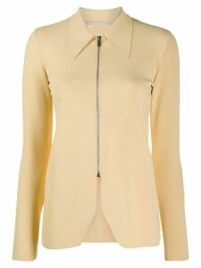 Stella McCartney zipped knit cardigan - NEUTRALS