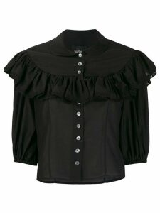 Marc Jacobs ruffle trim blouse - Black