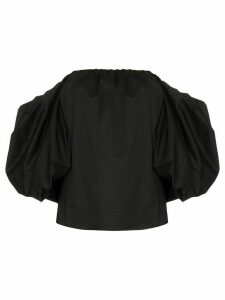 Johanna Ortiz Our Secret off-the-shoulder blouse - Black