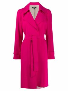 Theory belted trench coat - PINK