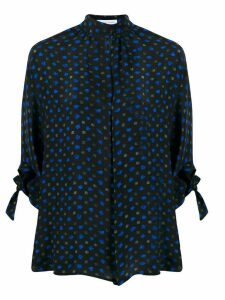 Christian Wijnants abstract print blouse - Black