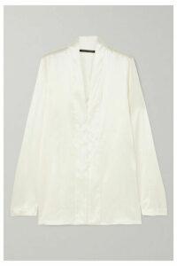 Haider Ackermann - Silk-satin Shirt - White