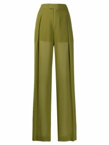 Chloé tailored high-waisted trousers - Green