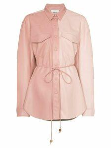 Nanushka eddy jacket - PINK