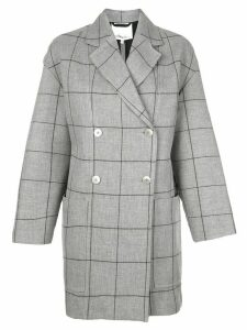 3.1 Phillip Lim windowpane cardigan coat - Grey