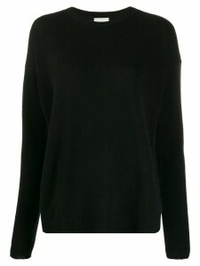 Le Kasha Crête relaxed-fit cashmere jumper - Black