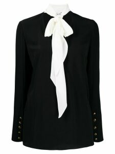 Givenchy pussy bow detail blouse - Black