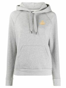 Isabel Marant Étoile chest logo hoodie - Grey