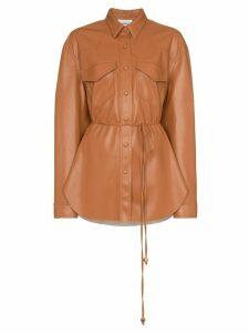Nanushka Eddy shirt jacket - ORANGE
